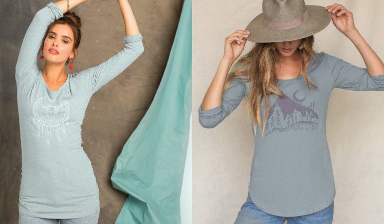 organic cotton womens tops